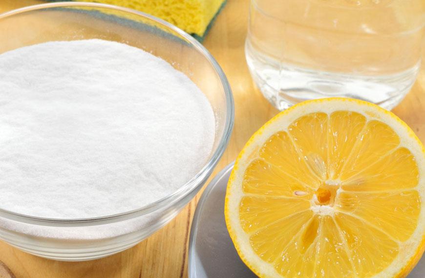 benefici dellacqua con limone e bicarbonato di sodio